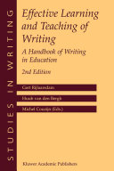 Pdf Effective Learning and Teaching of Writing Telecharger