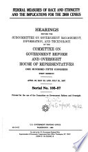 Federal Measures Of Race And Ethnicity And The Implications For The 2000 Census PDF