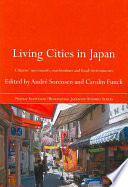 Download Living Cities in Japan Epub