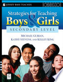 Strategies For Teaching Boys And Girls Secondary Level