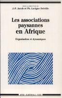 Pdf Les associations paysannes en Afrique Telecharger