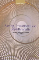 Saving  Investment  and Growth in India