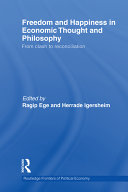 Freedom and Happiness in Economic Thought and Philosophy