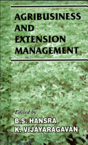Pdf Agribusiness and Extension Management