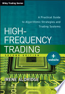 High Frequency Trading Book PDF