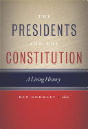 The Presidents and the Constitution [Pdf/ePub] eBook