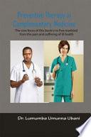 Preventive Therapy in Complimentary Medicine