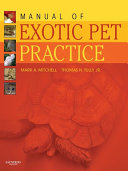 Manual of Exotic Pet Practice   E Book