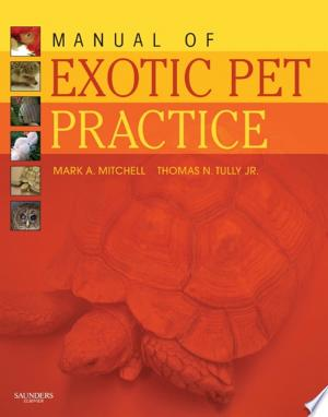 Download Manual of Exotic Pet Practice - E-Book online Books - godinez books