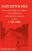 Natchitoches 1729 1803