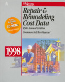 Means Repair and Remodeling Cost Data  1998