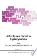Astrophysical Radiation Hydrodynamics
