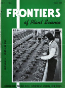 Frontiers of Plant Science Book PDF