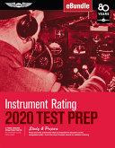 Instrument Rating Test Prep 2020