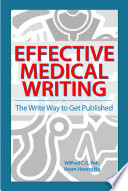 Effective Medical Writing  The Write Way To Get Published  UM Press  Book