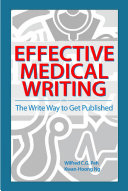 Effective Medical Writing  The Write Way To Get Published  UM Press