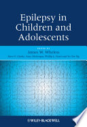 Epilepsy in Children and Adolescents Book