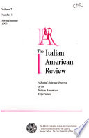 The Italian American Review