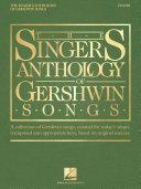 The Singer's Anthology of Gershwin Songs - Tenor Pdf/ePub eBook