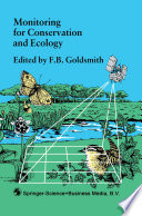 Monitoring for Conservation and Ecology Book