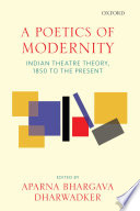 A Poetics of Modernity