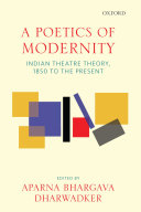 A Poetics of Modernity Pdf/ePub eBook