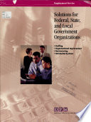 Solutions for Federal, State, and Local Government Organizations