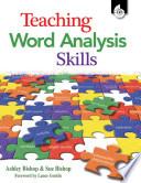 Teaching Word Analysis Skills