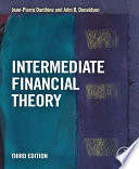 Intermediate Financial Theory