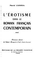 L'érotisme dans le roman français contemporain