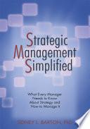 Strategic Management Simplified