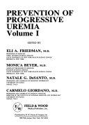 Prevention of Progressive Uremia