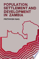 Population  Settlement  and Development in Zambia