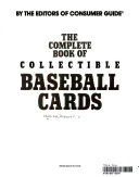 The Complete Book of Collectible Baseball Cards