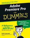 Pdf Adobe Premiere Pro For Dummies