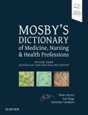 Cover of Mosby's Dictionary Of Medicine Nursing And Health Professions