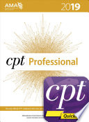CPT 2019 Professional Codebook and CPT Quickref App Package