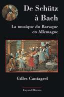 Pdf De Schütz à Bach. La musique du baroque en Allemagne Telecharger