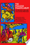 """The Malleus Maleficarum of Heinrich Kramer and James Sprenger"" by Montague Summers"