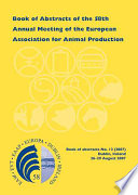 Book Of Abstracts Of The 58th Annual Meeting Of The European Association For Animal Production