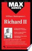Richard Ii Maxnotes Literature Guides