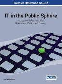 IT in the Public Sphere