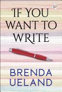If You Want to Write Pdf/ePub eBook