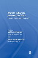Women in Europe Between the Wars