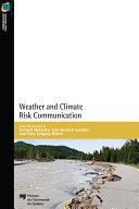 Weather and Climate Risk Communication [Pdf/ePub] eBook