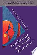 Cover of Psychology And Health Promotion