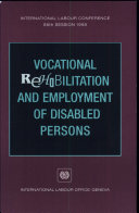 Vocational Rehabilitation and Employment of Disabled Persons