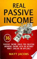 Real Passive Income Pdf/ePub eBook