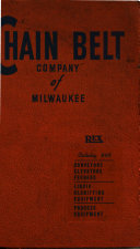 Rex Conveyors and Process Equipment Book