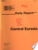 Daily Report  : Central Eurasia , Ausgaben 83-92